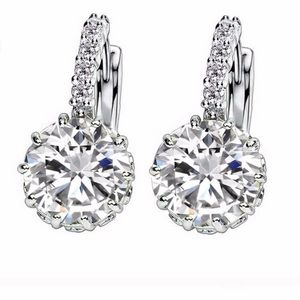 Swarovski Crystal Diamond Earrings